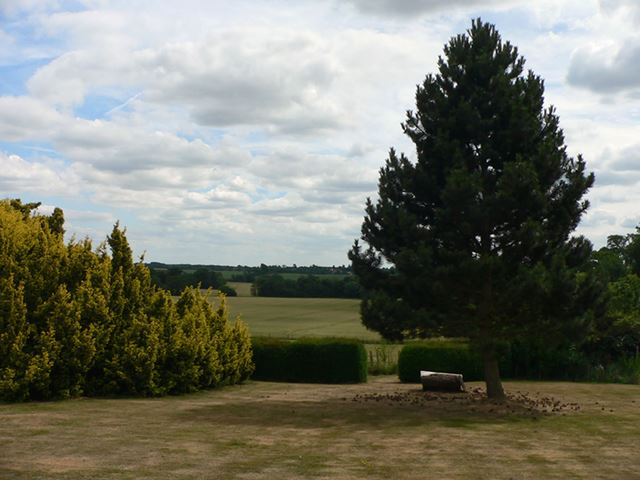 View from the House, Holy Cross Convent, Rempstone, 2010