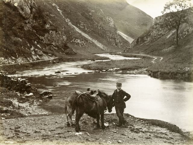 Dovedale, Stepping Stones and Donkeys