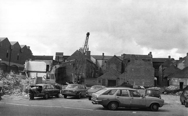 Demolition of Police Station, New Beetwell Street
