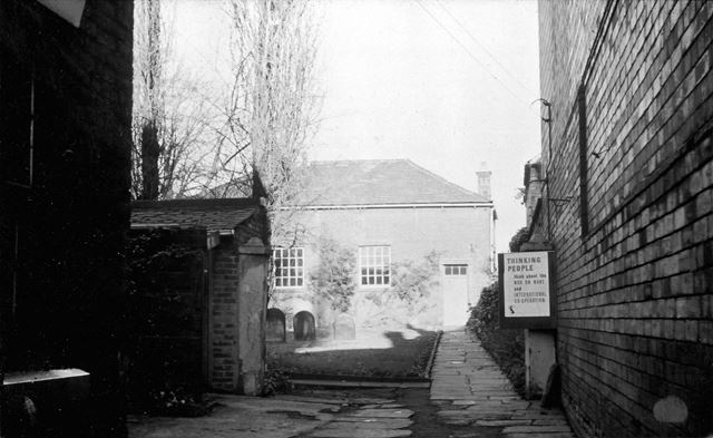 Friends' Meeting House, Chesterfield