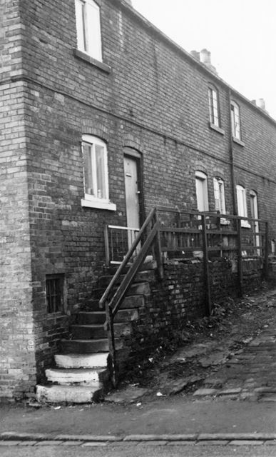 Mount Pleasant Cottages, Church Street North, Old Whittington, Chesterfield, 1971
