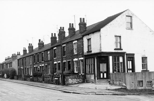 106-126 Holland Road, Old Whittington, Chesterfield, 1975