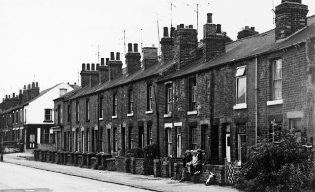 82-104 Holland Road, Old Whittington, Chesterfield, 1972