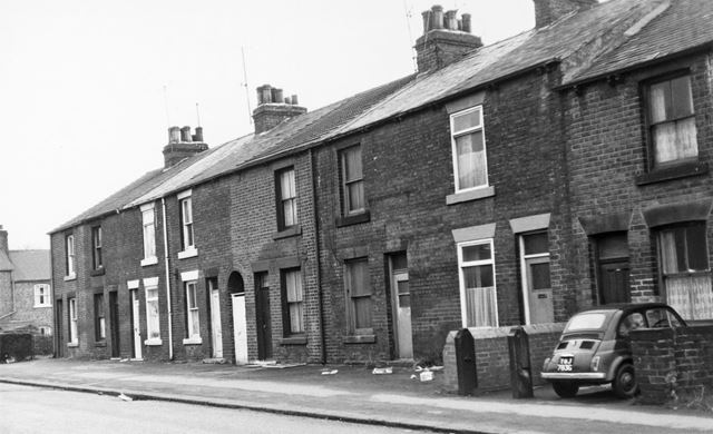 136-154 Holland Road, Old Whittington, Chesterfield, 1975