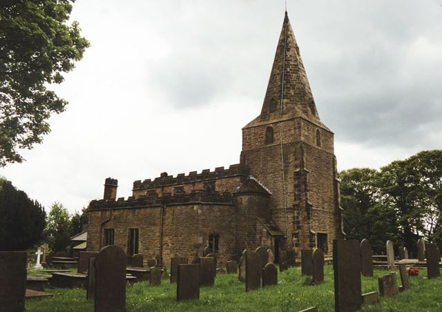 St Peter and St Paul's Church, Old Brampton, Chesterfield, 2002