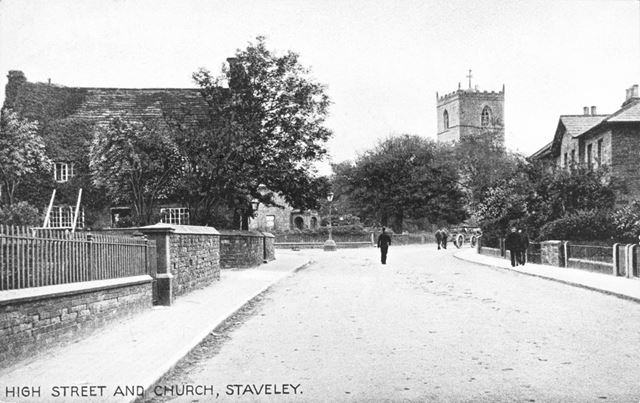 High Street and Church, Staveley