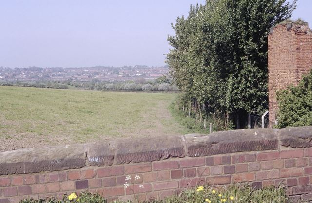 Alignment of the Nottingham Canal at Glasshouse Yard, Awsworth, 1992