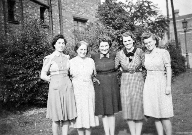 Food Office Workers, Congregational Church, St Andrews Drive, Ilkeston, c 1952 ?