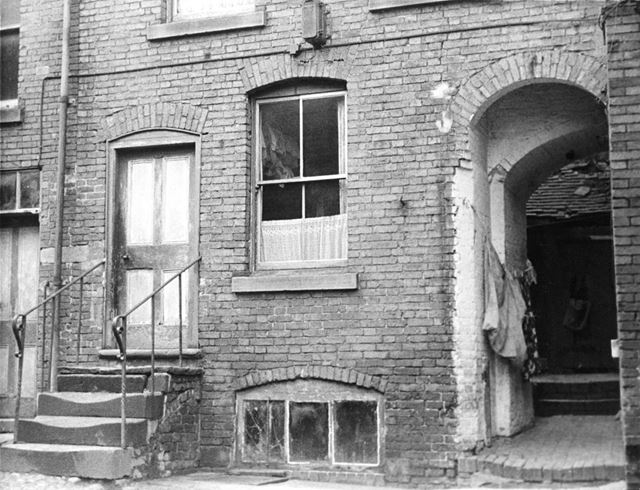Ground Floor and Entry of a dilapidated house in The Gallery