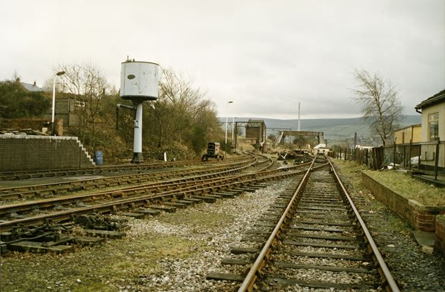 Track at Dinting Railway Centre, Dinting, 1990