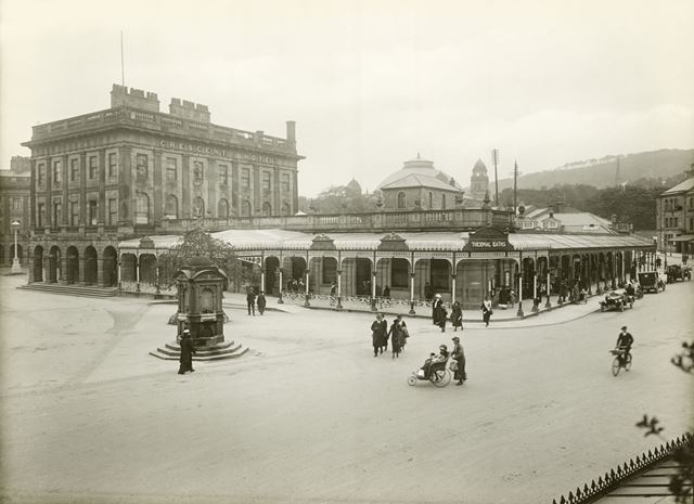 Thermal Baths, The Crescent, Buxton, c 1910