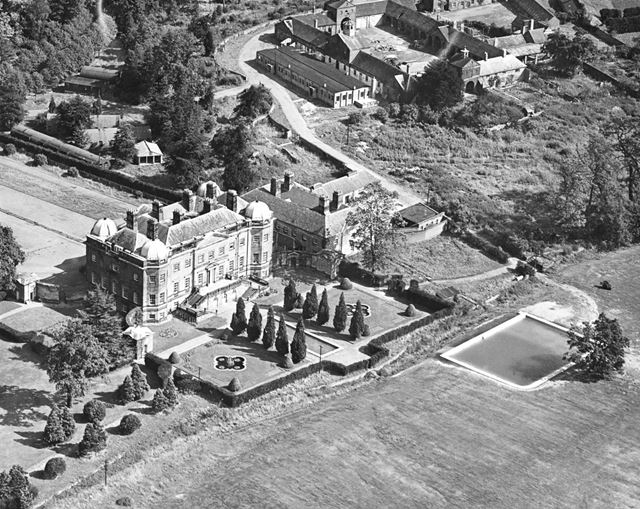 Aerial View of Foremark Hall