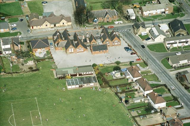 An aerial view of Tupton