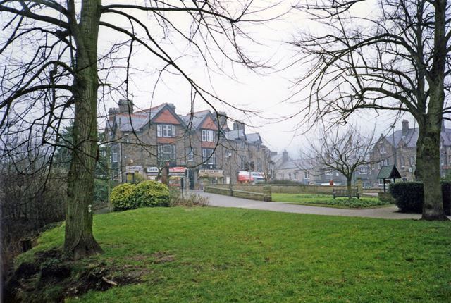Crown Square from the park, Matlock