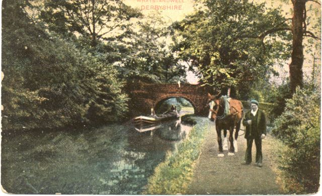 The Cromford Canal at Whatstandwell