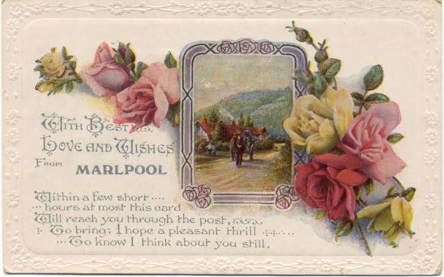 'With best love and wishes from Marlpool'