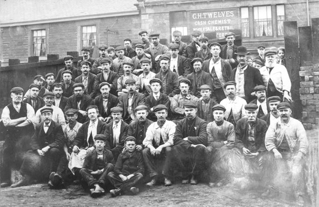 Lucas Works Bottom Yard Employees (Edward Lucas and Sons, Iron Foundry)