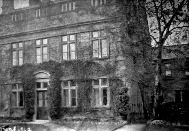 The Hall, Dronfield, c 1900s?