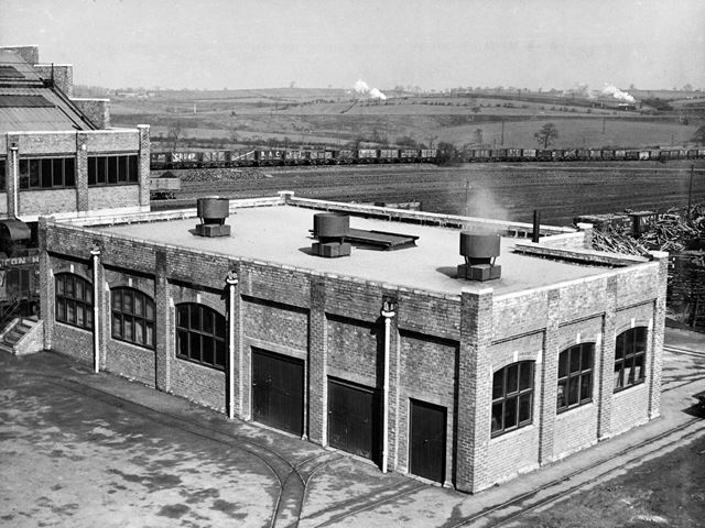'The Modernisation of Williamthorpe Colliery 1938-40' - Joiners shop and sawmill, after improvements
