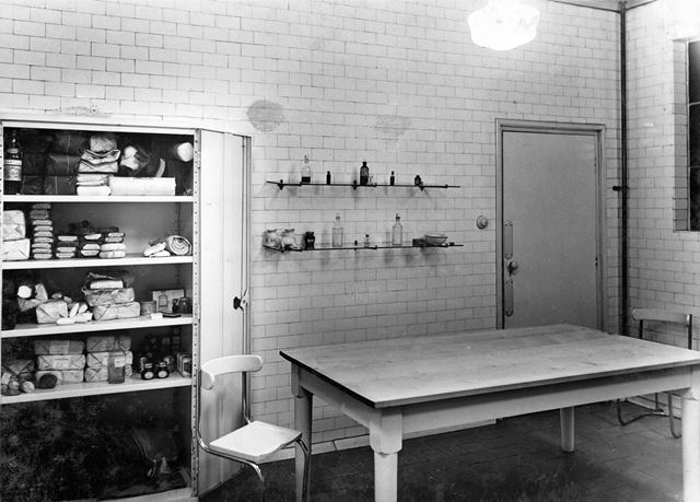 'The Modernisation of Williamthorpe Colliery 1938-40' - new first aid room