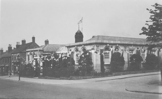 The old Carnegie Library