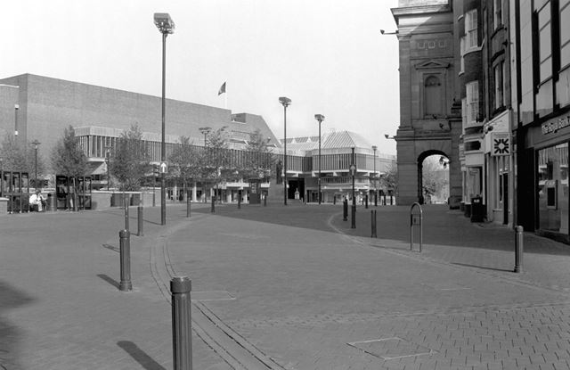 Market Place, looking towards the Assembly Rooms