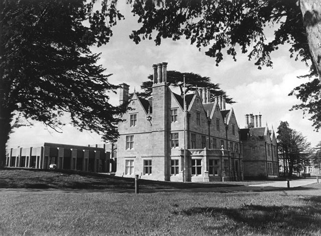 Duffield Hall, Derby Road, Duffield, 1978
