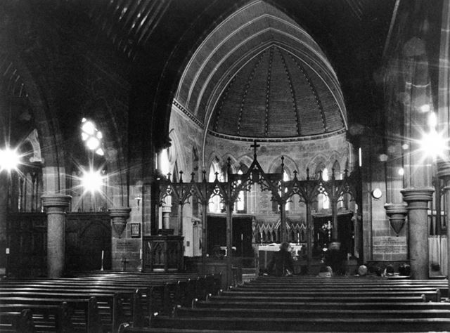 St James Church,View of the nave,looking towards the high altar