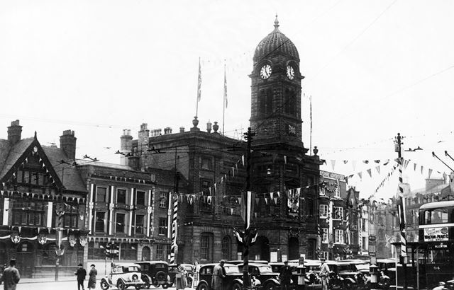 Market Place showing Town Hall
