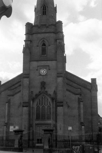 View of Main Entrance of Serbian Orthodox Church, Normanton Road